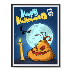 Ezposterprints - Jabba the Pumpkin Halloween Poster ambiance display photo sample