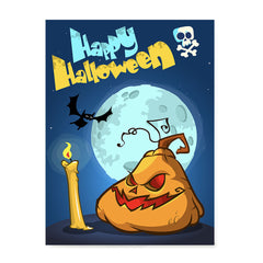 Ezposterprints - Jabba the Pumpkin Halloween Poster