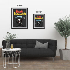 Ezposterprints - The Cute Reaper Halloween Poster ambiance display photo sample