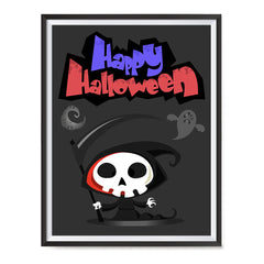 Ezposterprints - The Cute Reaper 2 Halloween Poster ambiance display photo sample