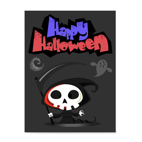 Ezposterprints - The Cute Reaper 2 Halloween Poster
