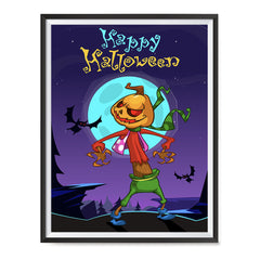 Ezposterprints - The Pumpkin Gone Crazy 2 Halloween Poster ambiance display photo sample