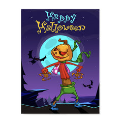 Ezposterprints - The Pumpkin Gone Crazy 2 Halloween Poster