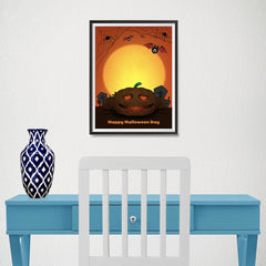 Ezposterprints - The Pumpkin 2 Halloween Poster - 12x16 ambiance display photo sample