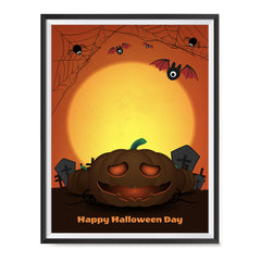 Ezposterprints - The Pumpkin 2 Halloween Poster ambiance display photo sample