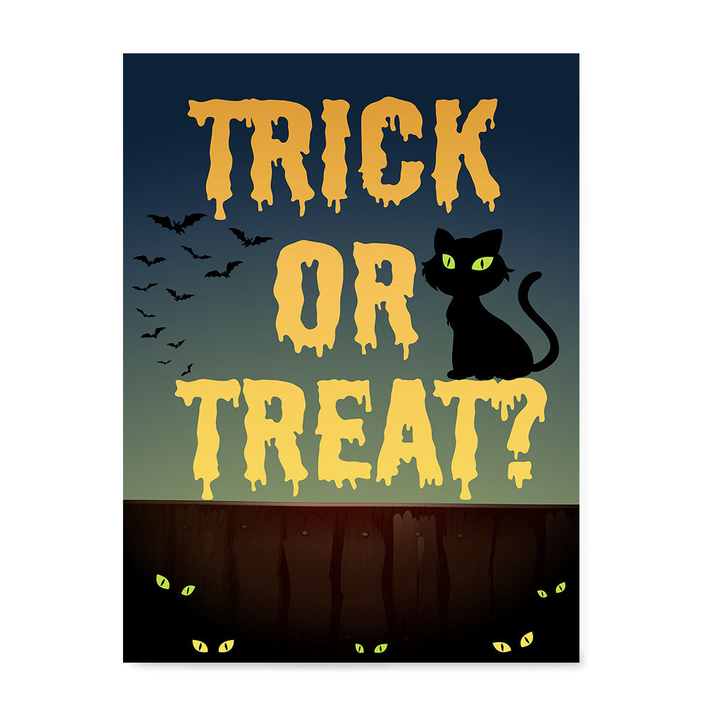 Ezposterprints - Trick or Treat? Halloween Poster
