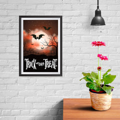 Ezposterprints - Moonligth - Red Halloween Poster - 08x12 ambiance display photo sample