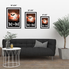 Ezposterprints - Moonligth - Red Halloween Poster