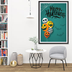 Ezposterprints - Balloons Halloween Poster - 32x48 ambiance display photo sample