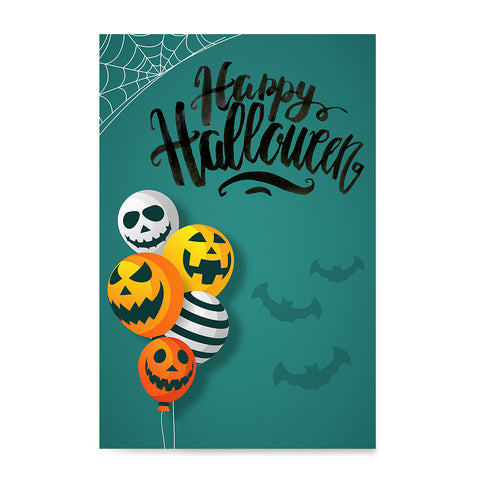 Ezposterprints - Balloons Halloween Poster ambiance display photo sample