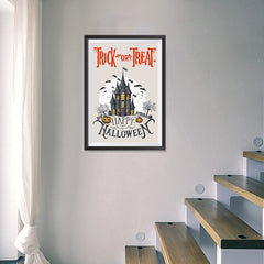 Ezposterprints - Spooky House Halloween Poster - 16x24 ambiance display photo sample