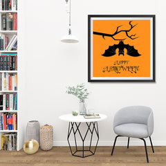 Ezposterprints - Big Bat Halloween Poster - 32x32 ambiance display photo sample