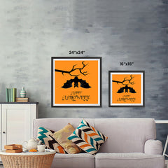 Ezposterprints - Big Bat Halloween Poster ambiance display photo sample