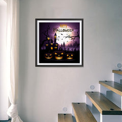 Ezposterprints - Dark Night Halloween Poster - 16x16 ambiance display photo sample