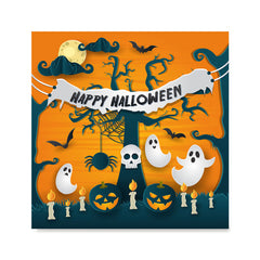 Ezposterprints - Ghosts Halloween Poster
