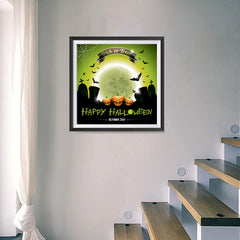 Ezposterprints - Trick or Treat Halloween Poster - 16x16 ambiance display photo sample