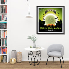 Ezposterprints - Trick or Treat Halloween Poster - 32x32 ambiance display photo sample