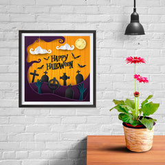 Ezposterprints - Walking Dead Halloween Poster - 10x10 ambiance display photo sample