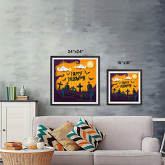 Ezposterprints - Walking Dead Halloween Poster ambiance display photo sample