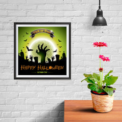 Ezposterprints - Walking Dead 2 Halloween Poster - 10x10 ambiance display photo sample