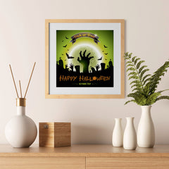 Ezposterprints - Walking Dead 2 Halloween Poster - 12x12 ambiance display photo sample