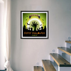 Ezposterprints - Walking Dead 2 Halloween Poster - 16x16 ambiance display photo sample