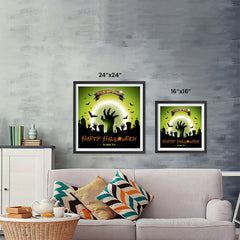 Ezposterprints - Walking Dead 2 Halloween Poster ambiance display photo sample