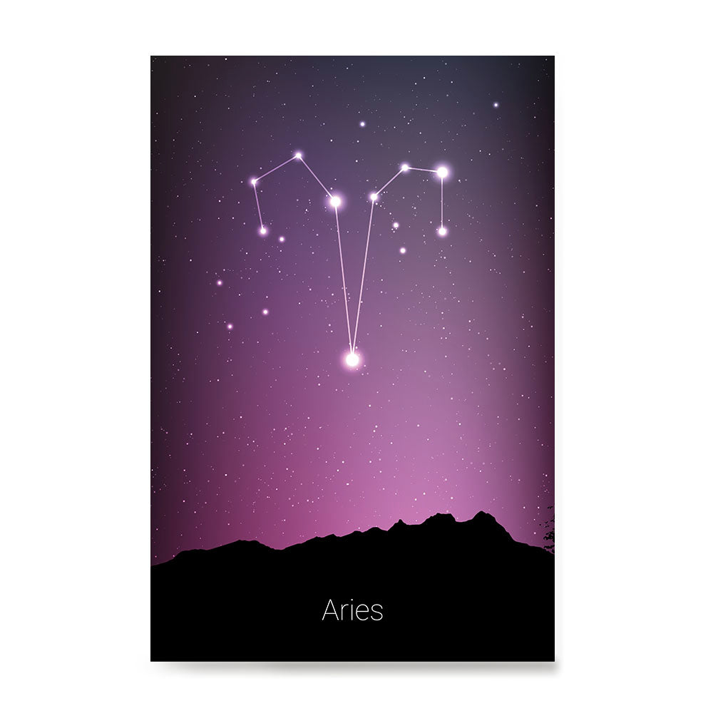 Ezposterprints - Horoscope Posters: Aries