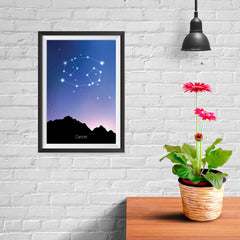 Ezposterprints - Horoscope Posters: Cancer - 08x12 ambiance display photo sample