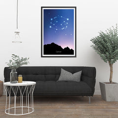 Ezposterprints - Horoscope Posters: Cancer - 24x36 ambiance display photo sample