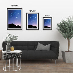 Ezposterprints - Horoscope Posters: Cancer ambiance display photo sample