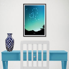 Ezposterprints - Horoscope Posters: Leo - 12x18 ambiance display photo sample
