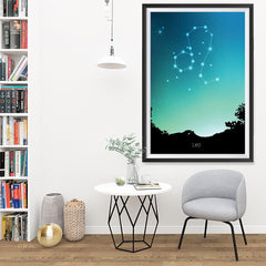 Ezposterprints - Horoscope Posters: Leo - 32x48 ambiance display photo sample