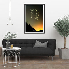 Ezposterprints - Horoscope Posters: Virgo - 24x36 ambiance display photo sample