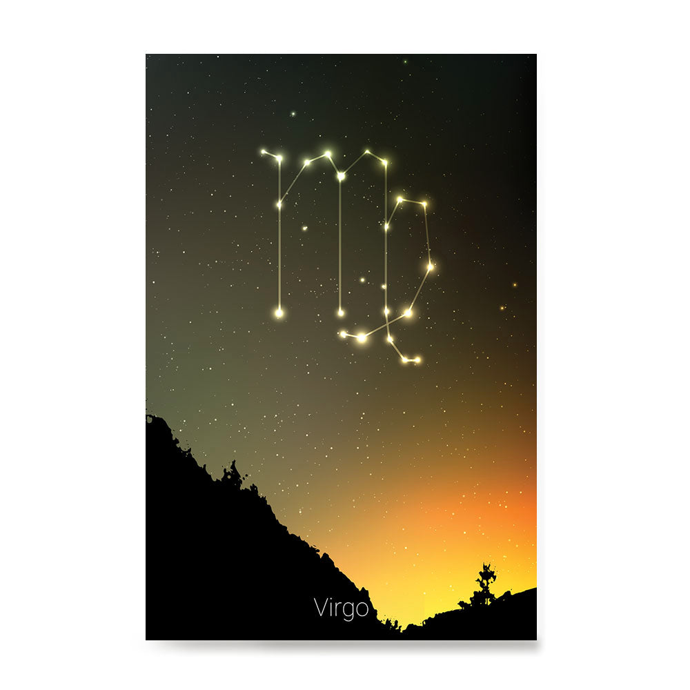 Ezposterprints - Horoscope Posters: Virgo