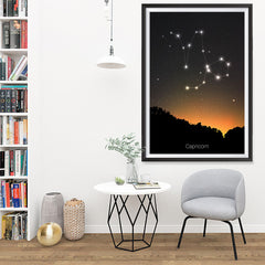 Ezposterprints - Horoscope Posters: Capricorn - 32x48 ambiance display photo sample