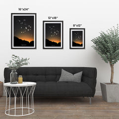 Ezposterprints - Horoscope Posters: Capricorn ambiance display photo sample