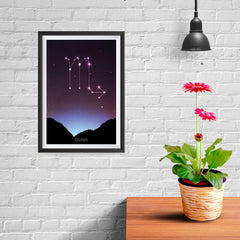Ezposterprints - Horoscope Posters: Scorpio - 08x12 ambiance display photo sample