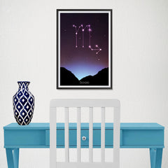 Ezposterprints - Horoscope Posters: Scorpio - 12x18 ambiance display photo sample