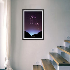 Ezposterprints - Horoscope Posters: Scorpio - 16x24 ambiance display photo sample