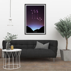 Ezposterprints - Horoscope Posters: Scorpio - 24x36 ambiance display photo sample