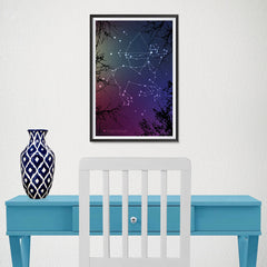 Ezposterprints - Horoscope Posters: Sagittarius - 12x18 ambiance display photo sample