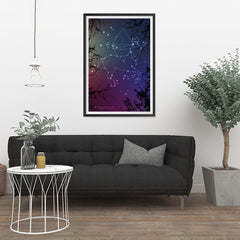 Ezposterprints - Horoscope Posters: Sagittarius - 24x36 ambiance display photo sample