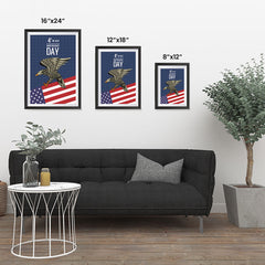 Ezposterprints - July IV Eagle 2 | Independence Day 4th of July Posters ambiance display photo sample