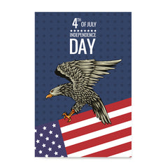 Ezposterprints - July IV Eagle 2 | Independence Day 4th of July Posters