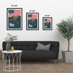 Ezposterprints - July IV Eagle 3 | Independence Day 4th of July Posters ambiance display photo sample