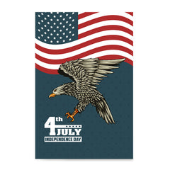 Ezposterprints - July IV Eagle 3 | Independence Day 4th of July Posters