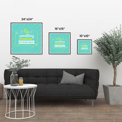 Ezposterprints - Do Something Creative Everyday ambiance display photo sample