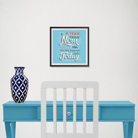 Ezposterprints - A Year From Now - 10x10 ambiance display photo sample
