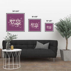 Ezposterprints - You are Magic ambiance display photo sample